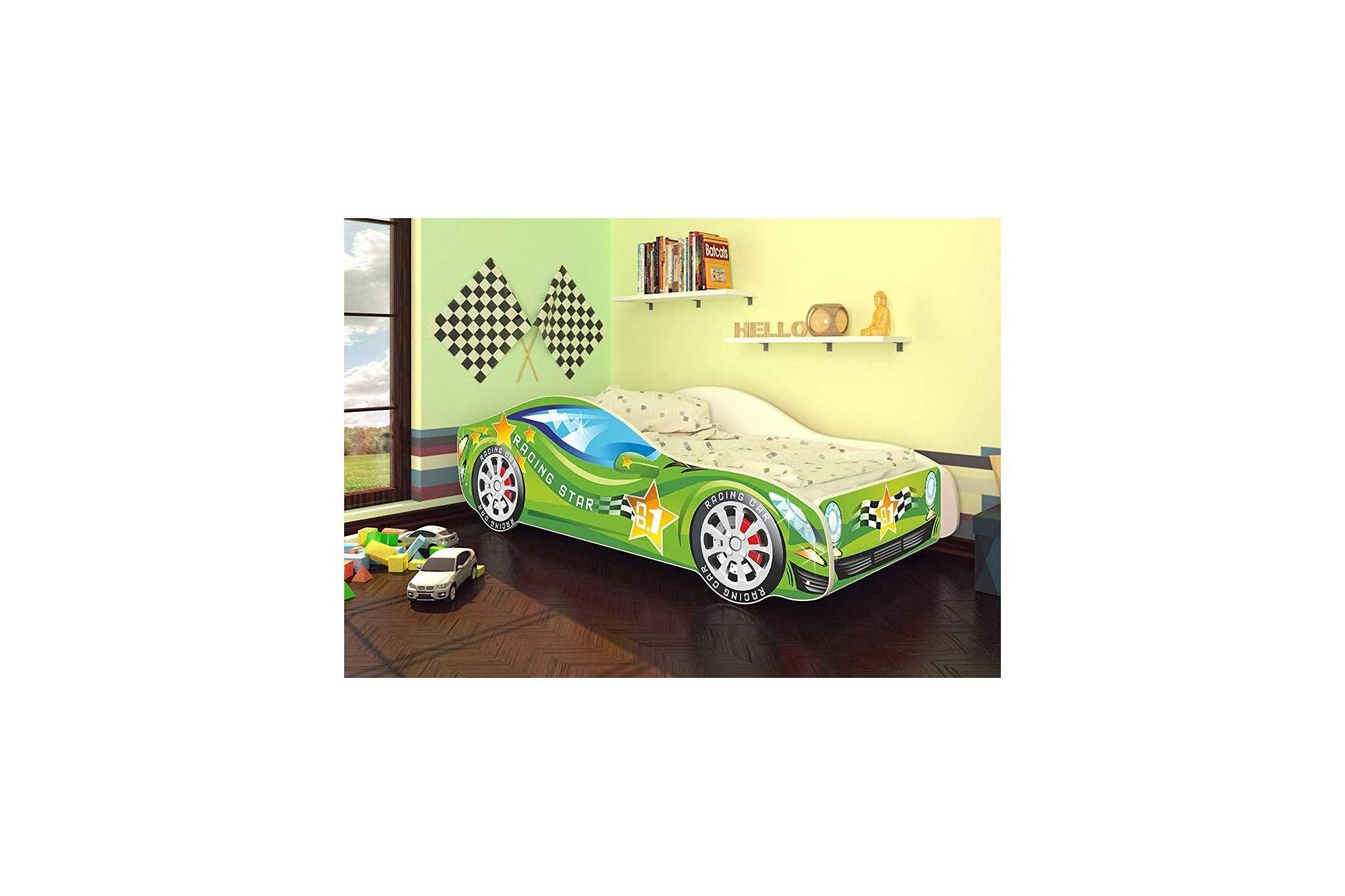 Best For Kids Autobett Kinderbett Bett Auto Car Junior in vier ...