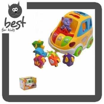 Leomark Kleinkindspielzeug Lernspielzeug in weiß mit...