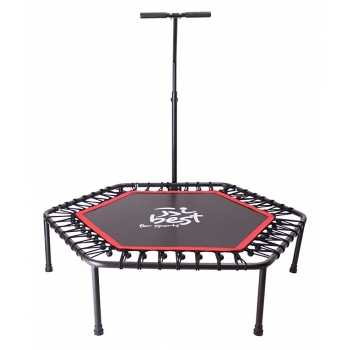 Best for Sports Fitness Trampolin mit Stange,...