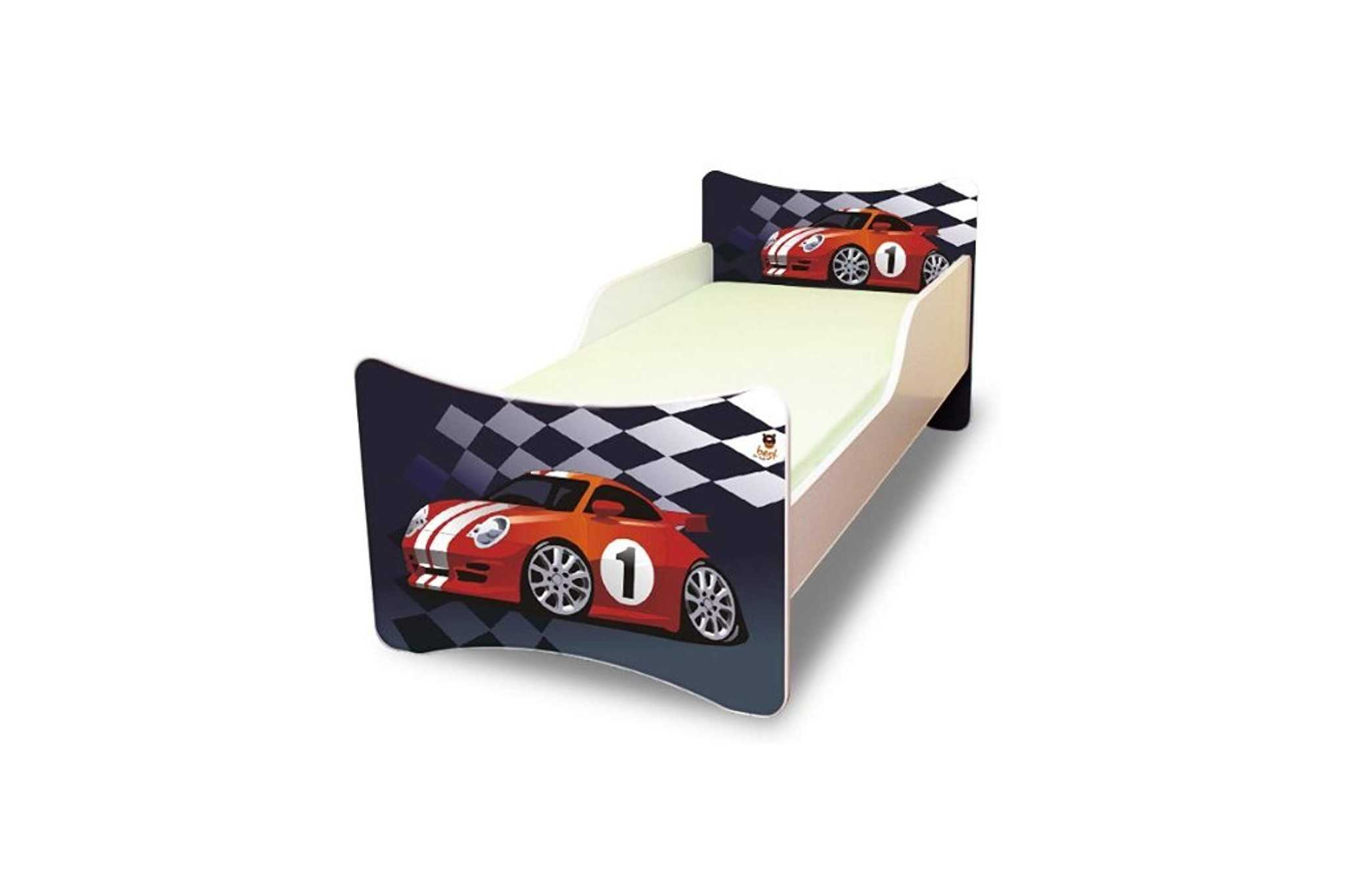 Best For Kids Kinderbett 90x200 ohne Matratze - Cars