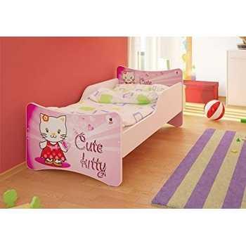 Best For Kids Kinderbett mit Schaummatratze mit TÜV...