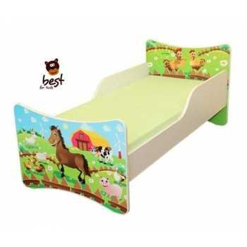 Best For Kids Babybett Kinderbett Jugendbett 70x140 mit...