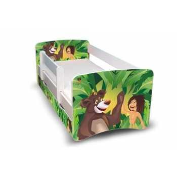 Best For Kids Kinderbett 90x160 mit Rausfallschutz +...