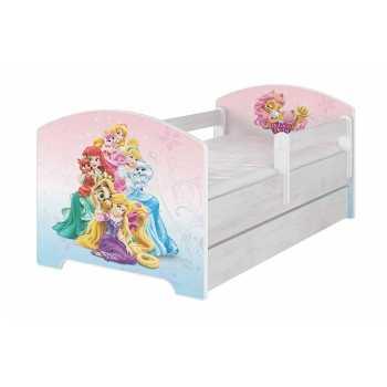 Original Disney's Kinderbett mit Rausfallschutz und...
