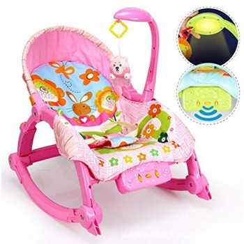 Best For Kids L319 pink Wunderwelt 2in1 Schaukelsitz...