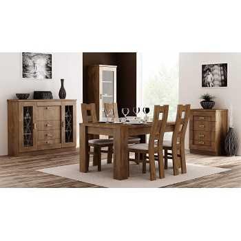 Best For Home Esstisch + Stuhlset : 1 x Esstisch 140 x 90...