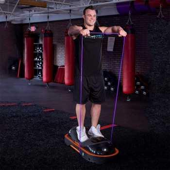 Best for Sports Fitnessbänder Gymnastikbander Loops für Yoga Pilates Crossfit 3-Bänderset 210x20cm 12-18kg