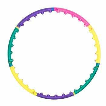 Best for Sports Hula Hoop mit Massagenoppen