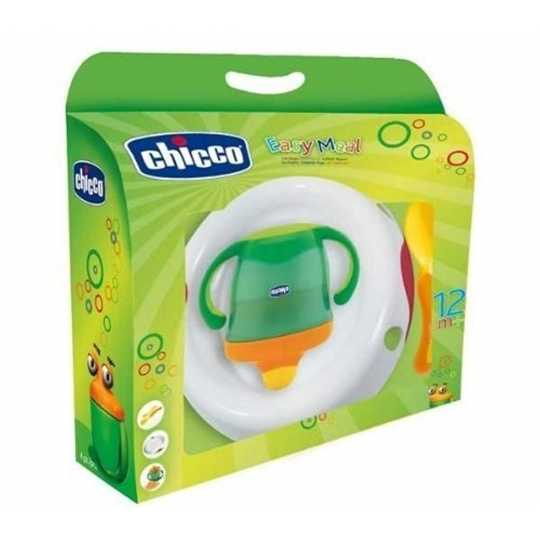 Chicco 2011 - 00539000 - Mahlzeiten-Set EASY MEAL, Basic, 12m+