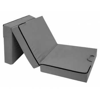 Best For You Prime Klappmatratze für Erwachsene mit Viscoauflage grau 15 cm