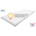 Best For You Topper Visco Viscoelastische Auflage Kern 7 cm. + versteppter Bezug mit TÜV Zertifikat für die Füllung