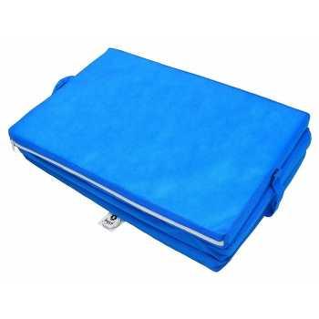 Best For Kids Klappmatratze für das Reisebett 120 x 60 cm Blau