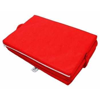 Best For Kids Klappmatratze für das Reisebett 120 x 60 cm Rot