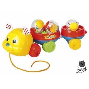 Unbekannt Leomark Babyspielzeug Nachziehspielzeug Raupe