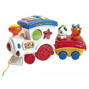 Leomark Kleinkindspielzeug Eisenbahn 101/211068