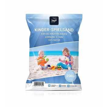 4myBaby GmbH Best For Garden 25kg Spielsand Quarzsand für...