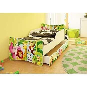 Best For Kids Kinderbett mit Schaummatratze TÜV...