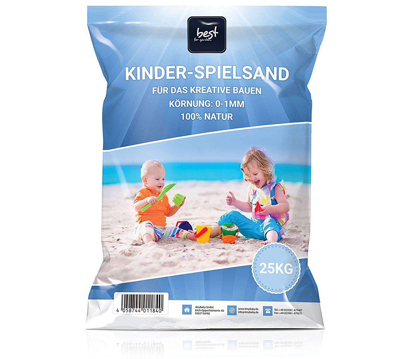 best for garden 25kg spielsand quarzsand f r sandkasten sandkiste dekosand ebay. Black Bedroom Furniture Sets. Home Design Ideas