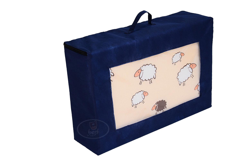 reisebettmatratze reisebett matratze bezug baumwolle mit transporttasche 60x120 ebay. Black Bedroom Furniture Sets. Home Design Ideas