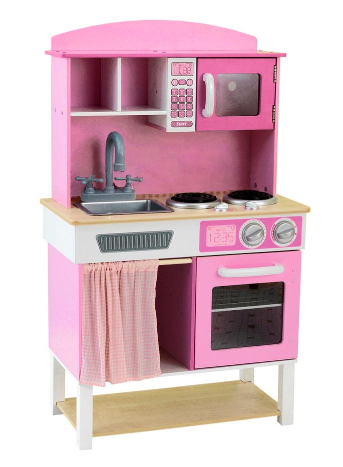 best for kids kinderk che f r m dchen mit zubeh r spielk che holzk che ebay. Black Bedroom Furniture Sets. Home Design Ideas
