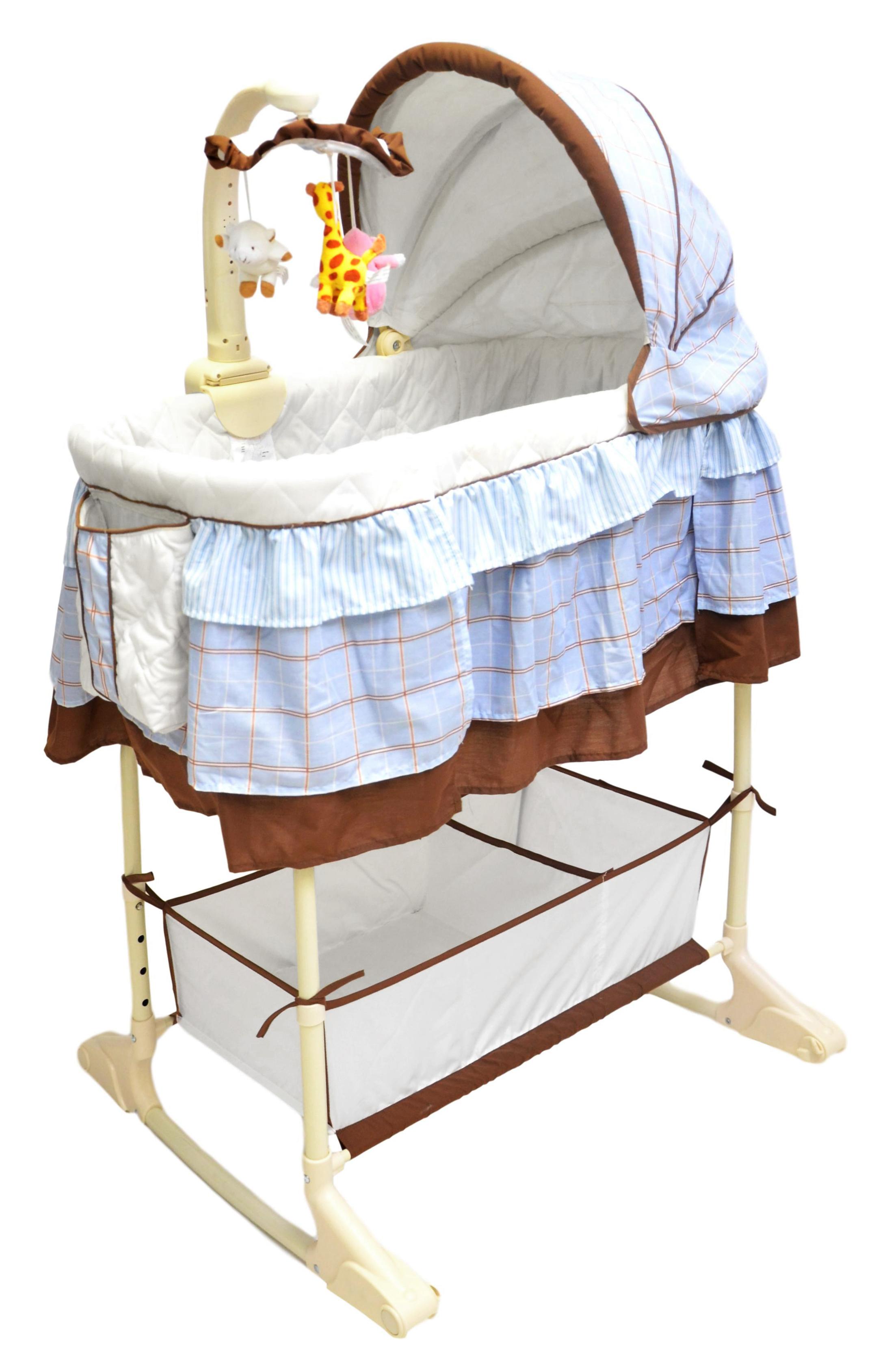 bestforkids stubenwagen babywiege babybett babyschaukel wiege mit fernbedienung ebay. Black Bedroom Furniture Sets. Home Design Ideas