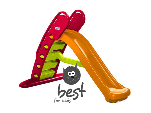 little tikes klappbare riesenrutsche rutsche kinderrutsche. Black Bedroom Furniture Sets. Home Design Ideas